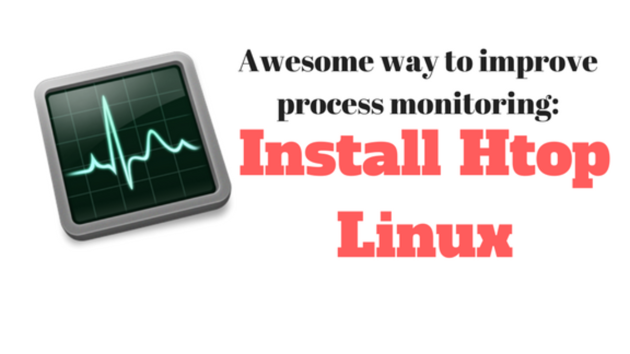 Install-htop-Linux